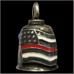 Thin Red Line American Flag Gremlin Bell