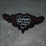 Ladies Laconia 2008 Bike Week Patch - Red