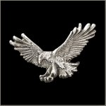 Fishing Eagle Pin