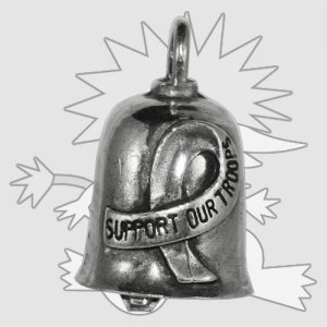 Support Our Troops Gremlin Bell