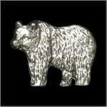 Grizzly Bear Pin