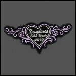 Ladies Daytona 2010 Bike Week Patch - Pink