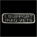 I Support Iraq Vets Pin