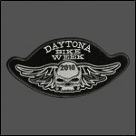 Daytona Bike Week 2010 Skull Patch