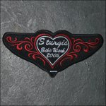 2006 Ladies Sturgis Event Patch - Red