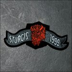 1999 Sturgis Event Patch - Buffalo