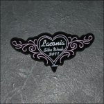Ladies Laconia 2008 Bike Week Patch - Pink
