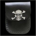 Skull & Crossbones Lighter Case
