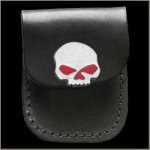Red Eyed Skull Lighter Case