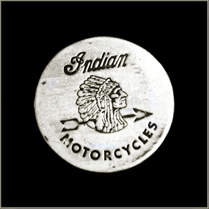 Indian Motorcycles Biker Pin
